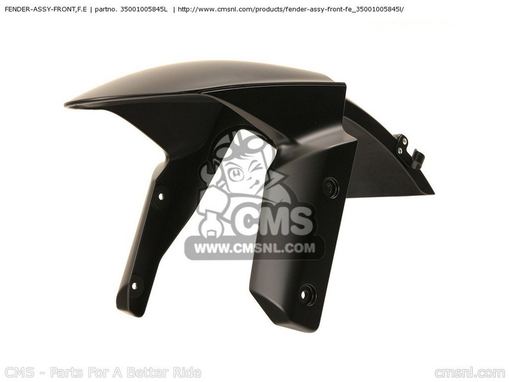 CMS シーエムエス フロントフェンダー FENDER-ASSY-FRONT,F.E ZX1000JEF NINJAZX10R 2014 USA ZX1000KEF NINJAZX10R 2014 USA / ABS
