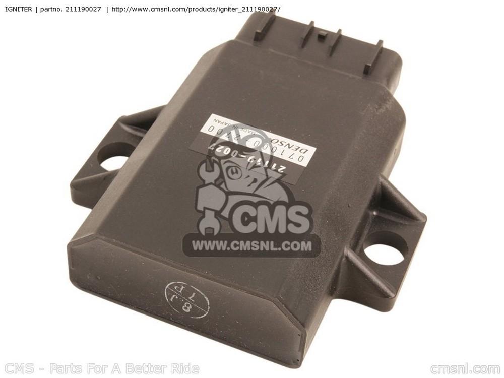 CMS シーエムエス イグニッションコイル・ポイント・イグナイター関連 IGNITER KX250-R1 KX250 2005 USA CANADA KX250R6F KX250 2006 USA CANADA