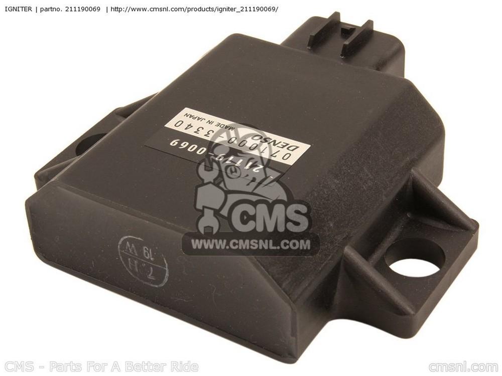 CMS シーエムエス イグニッションコイル・ポイント・イグナイター関連 IGNITER KX450D7F KX450F 2007 USA CANADA