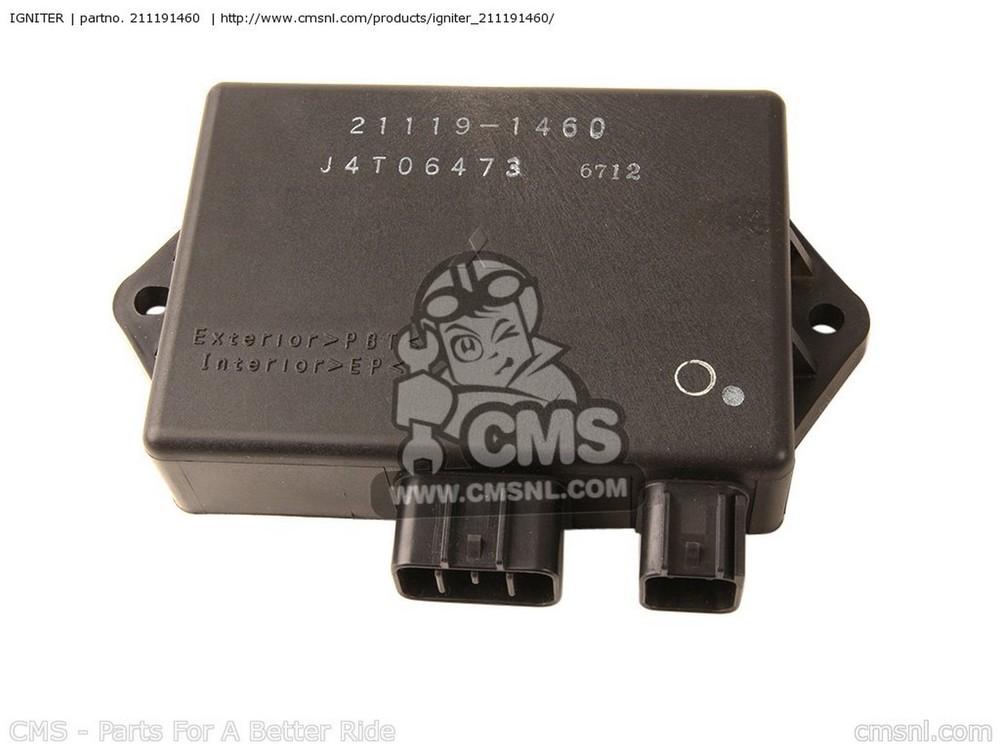 CMS シーエムエス イグニッションコイル・ポイント・イグナイター関連 IGNITER ZX750P8 NINJA ZX7R 2003 USA CALIFORNIA CANADA