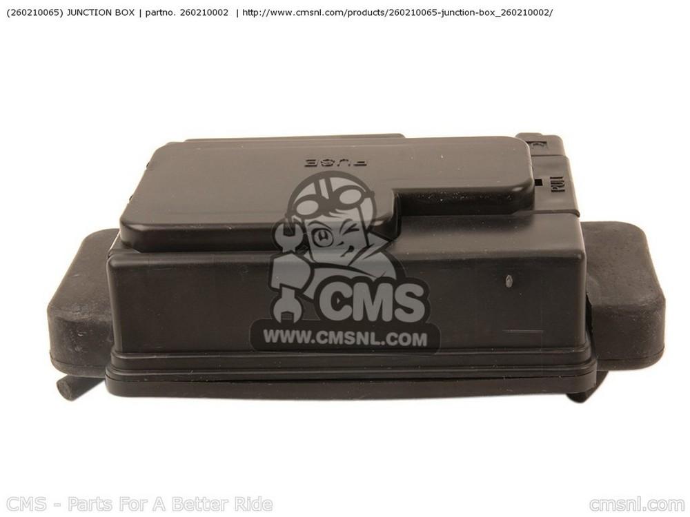 CMS シーエムエス その他電装パーツ (260210065) JUNCTION BOX