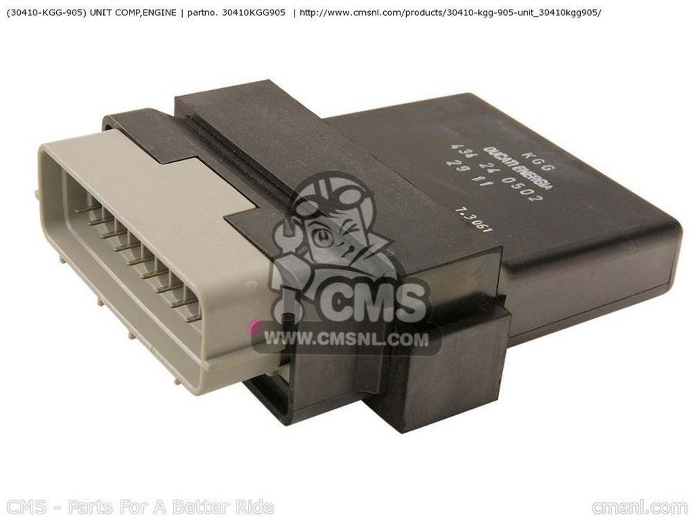 CMS シーエムエス CDI・リミッターカット関連 (30410-KGG-905) UNIT COMP,ENGINE