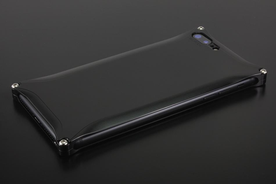 GILD design ギルドデザイン スマートフォンケース ソリッド for iPhone8Plus/7Plus カラー:ブラック iPhone8Plus/7Plus