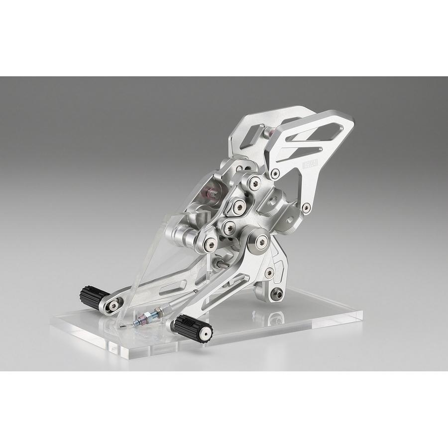 AELLA アエラ バックステップ ライディングステップキット カラー:ゴールド (特色) R1200 R 15- R1200 RS 15-