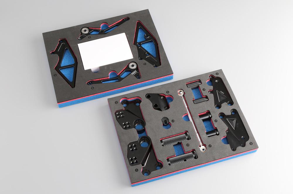 AELLAアエラバックステップライディングステップキットカラー:ガンメタ(特色)390DUKE/200/125