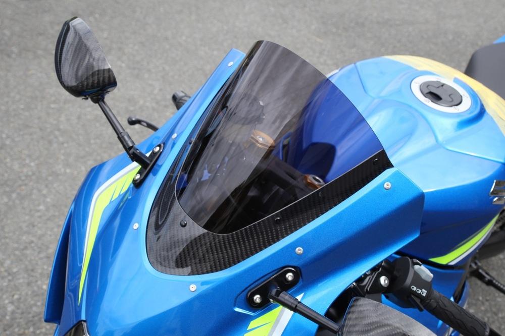 Magical Racing マジカルレーシング カーボントリムスクリーン GSX-R1000