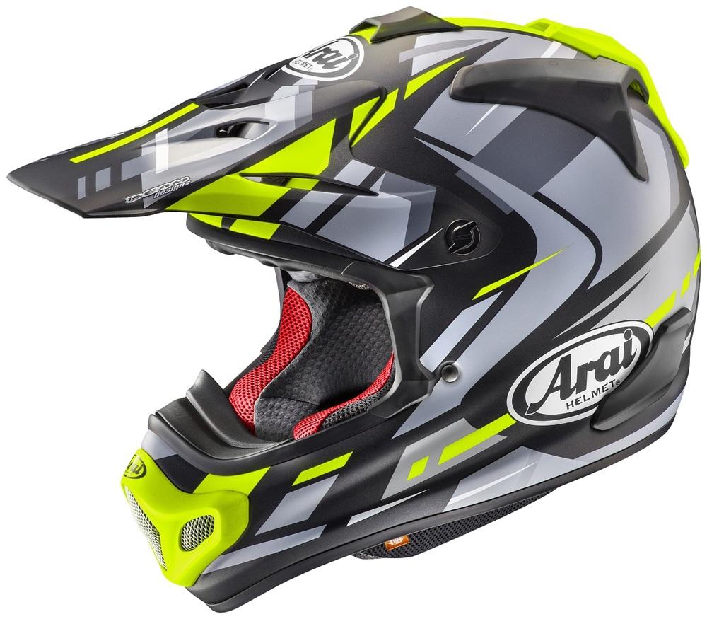 Arai アライ オフロードヘルメット V-CROSS 4 BOGLE[V-クロス4 ボーグル]ヘルメット サイズ:M(57-58cm)