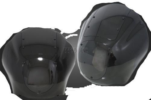 ガレージT&F ビラーゴ250 フェアリングカウルKIT(クリアースクリーン) カラー:スモークスクリーン ビラーゴ250(XV250)
