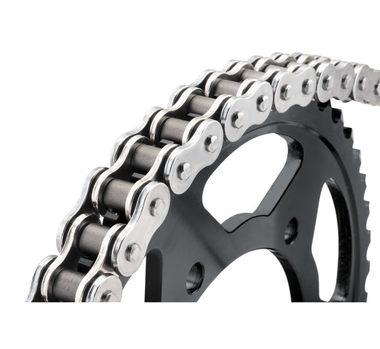 BikeMaster バイクマスター チェーン 530 BMZR Series Chain Color:Chrome [197433]