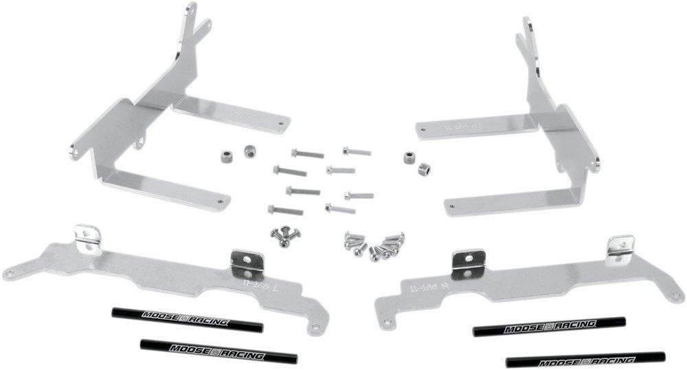 MOOSE RACING ムースレーシング ガード・スライダー ラジエーターブレース【RADIATOR BRACES [1901-0259]】 CRF250R 2010 - 2013