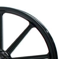 GLIDE グライド ホイール本体 アルミ鍛造ホイール カラー:グロスブラック DYNA ABS FXDB FXDC