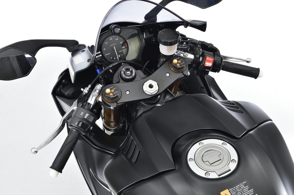 OVER オーヴァー オーバー スポーツライディング ハンドルキット カラー:シルバーアルマイト仕上げ YZF-R6