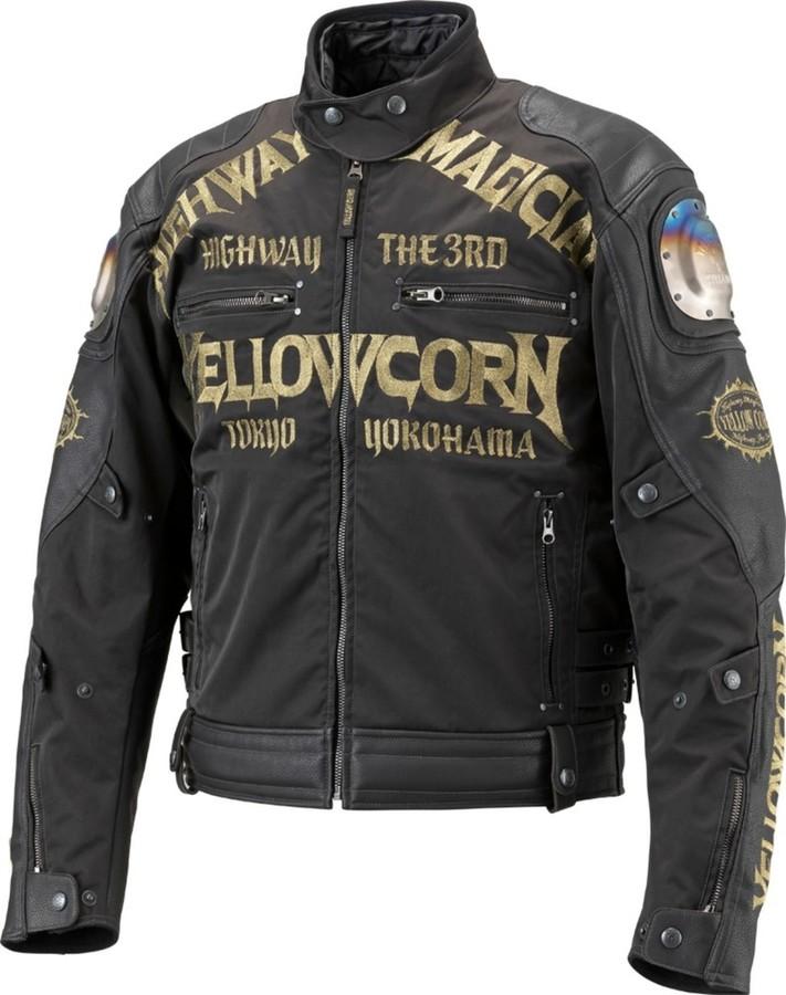 YeLLOW CORN イエローコーン ナイロンジャケット チタニウムウィンタージャケット サイズ:LL