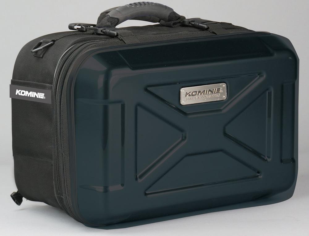 【イベント開催中!】 KOMINE コミネ サドルバッグ・サイドバッグ SA-235 ハードシェルツーリングサドルバッグ カラー:ブラック