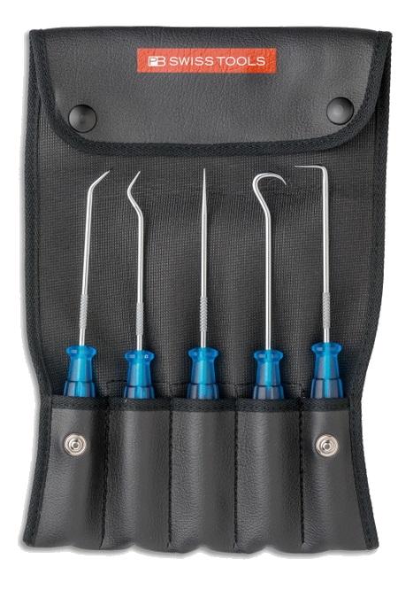PB ピービー その他の工具 ピックツール5本セット (ロールケース付)