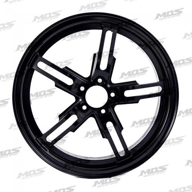 MOS モス ホイール本体 鍛造ホイールリム カラー:ブラック サイス:Front wheel(2.5J) BWS 125 BWs(Zuma) BWS125