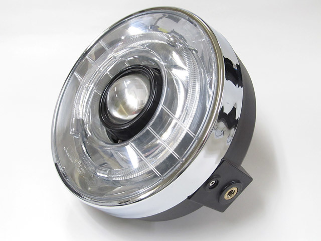 PROTEC プロテック ヘッドライト本体・ライトリム/ケース LEDプロジェクターライト 色温度:3000k 汎用