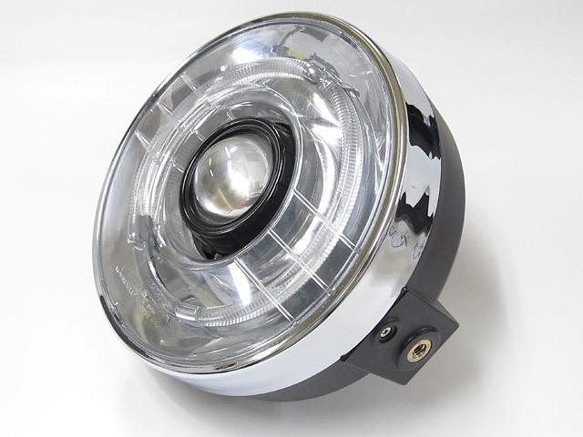 PROTEC プロテック ヘッドライト本体・ライトリム/ケース LEDプロジェクターライト 色温度:6000k 汎用