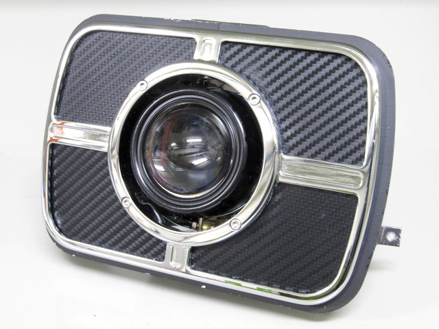 PROTEC プロテック ヘッドライト本体・ライトリム/ケース LEDプロジェクターライト 色温度:6000k GPZ900R ZRX1100 ZRX1200 ZRX400