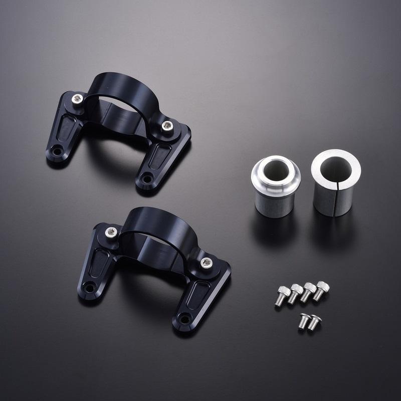 OVER オーヴァー フロントフェンダー ブラケット カラー:ブラックアルマイト仕上げ CB1100 CB1100 EX