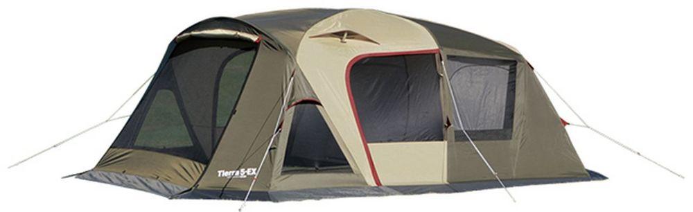 OGAWA(CAMPAL JAPAN) 小川テント(キャンパルジャパン) キャンプ用品 ティエラ5-EX ハイスペックロッジドーム(ツールームテント)