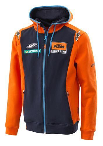 KTM POWER WEAR KTMパワーウェア カジュアルウェア REPLICA TEAM ZIP HOODIE サイズ:S