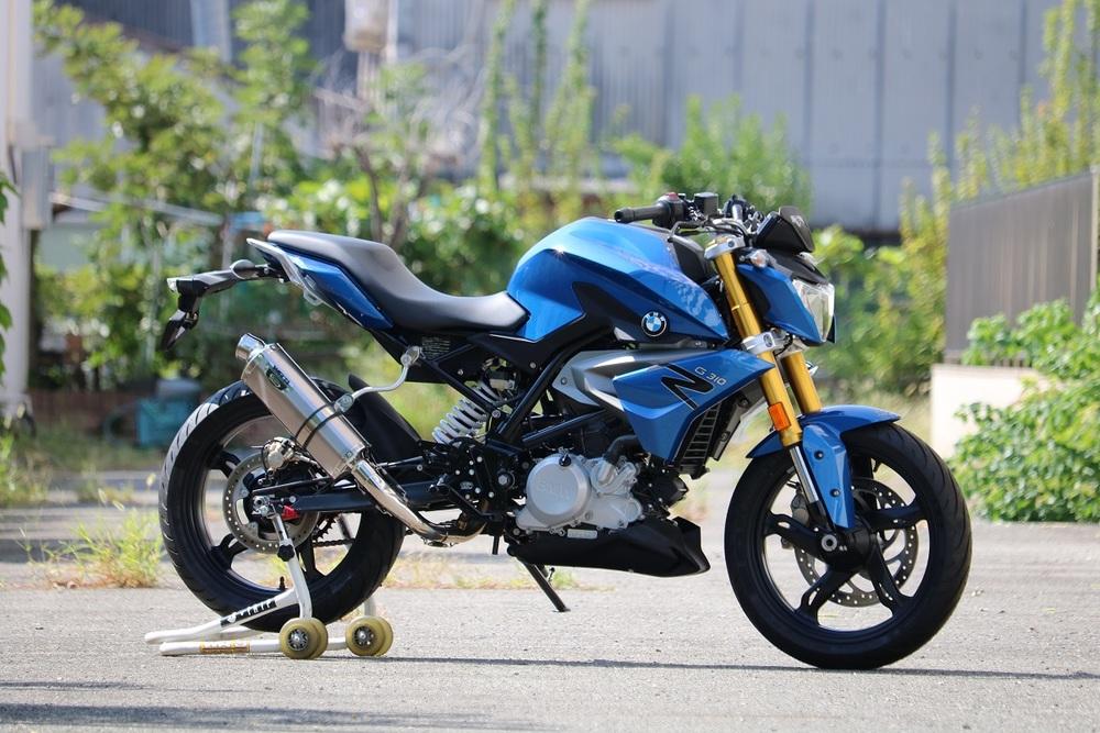 ZIP MOTOR PRO ジップモータープロ レース用 フルエキゾーストマフラー ソリッド G310R