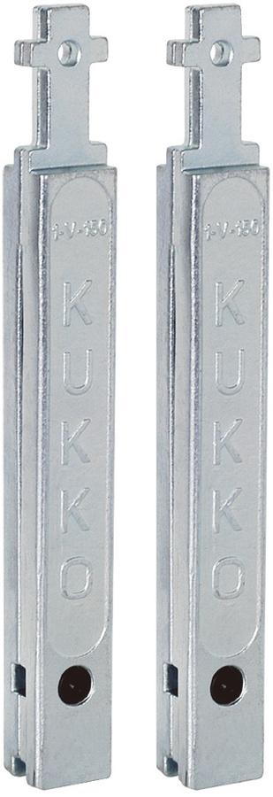 KUKKO クッコ 20-1・20-10用延長アーム150MM (2本組)