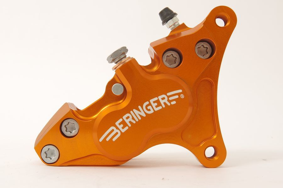 BERINGER ベルリンガー 4ピストンキャリパー カラー:オレンジ RVF750[RC45] VFR750R[RC30]
