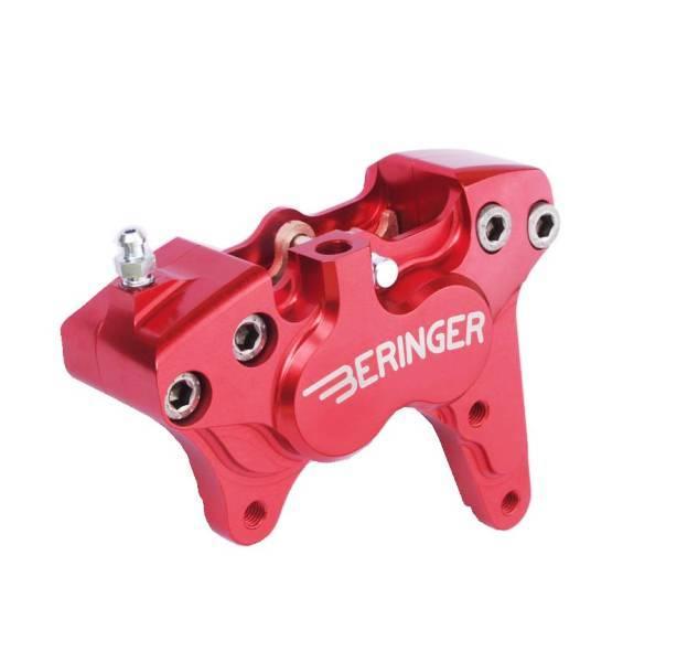 BERINGER ベルリンガー 4ピストンキャリパー カラー:レッド WR250F 12-14 WR450F 12-14 YZ250F 08-15 YZ450F 08-15