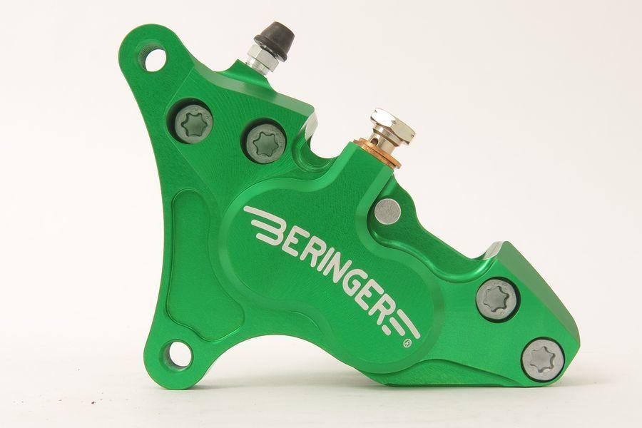 BERINGER ベルリンガー 4ピストンキャリパー カラー:グリーン CRF250R 15-18