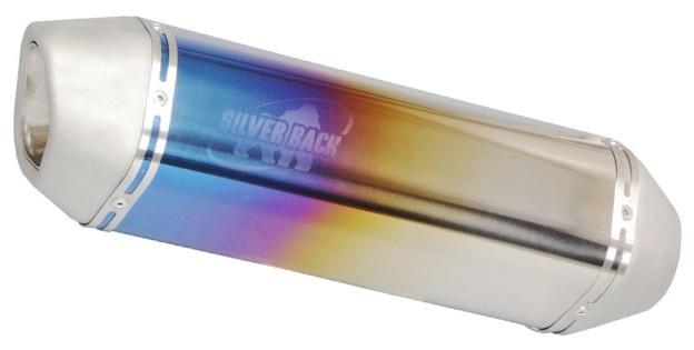 ENDURANCE エンデュランス スリップオンマフラー 汎用 VMマフラー 素材:チタン (チタングラデーション)