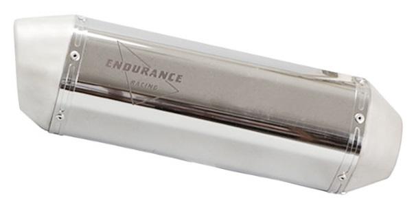 ENDURANCE エンデュランス バッフル・消音装置 汎用 VMマフラー 素材:ステンレス