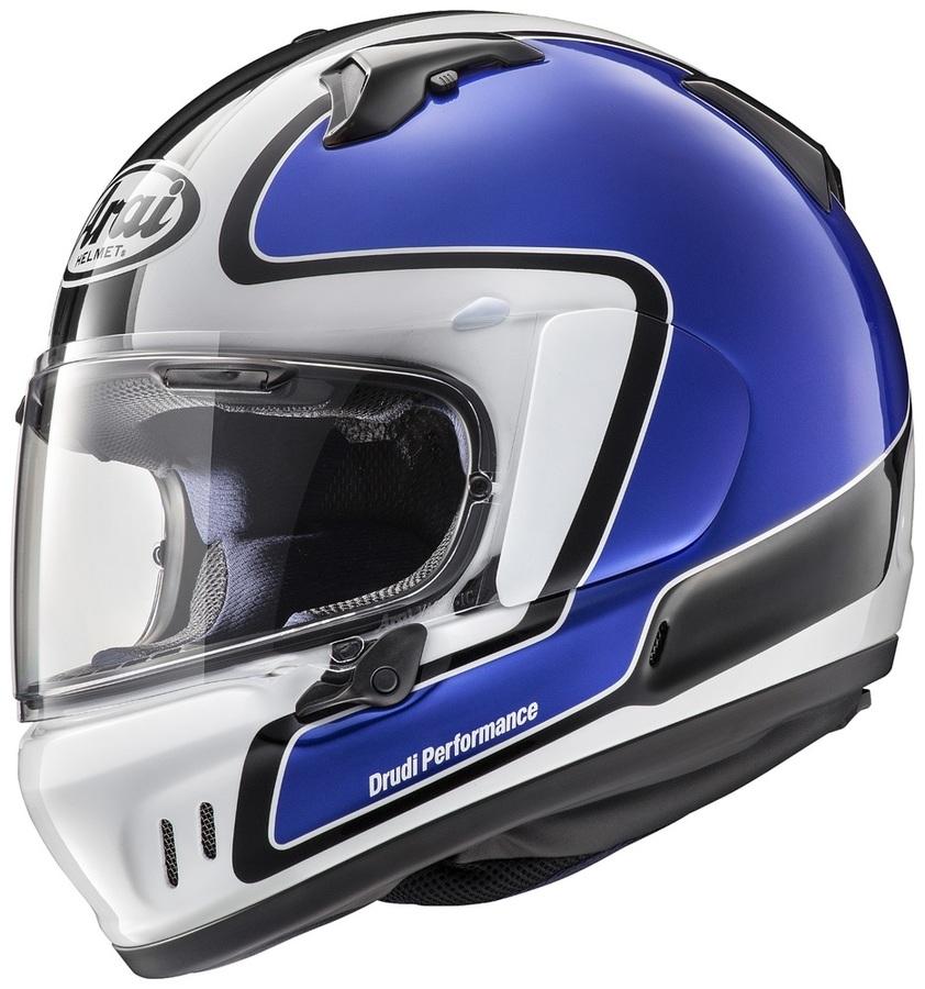 Arai アライ フルフェイスヘルメット XD OUTLINE [エックスディー アウトライン ブルー] ヘルメット サイズ:S(55-56cm)