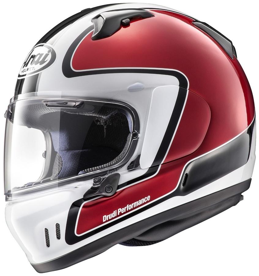 Arai アライ フルフェイスヘルメット XD OUTLINE [エックスディー アウトライン レッド] ヘルメット サイズ:XS(54cm)