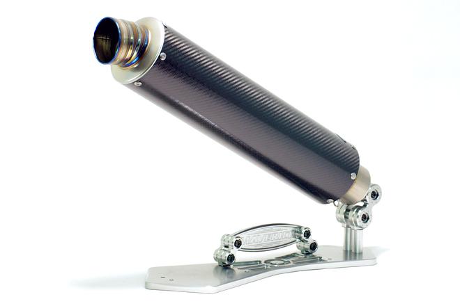 MAVERICK マーヴェリック スリップオンマフラー MV97 サイレンサー エンド形状:3P カバー長/全長:350mm/460mm 重量:1100g サイレンサー:カーボンソリッド