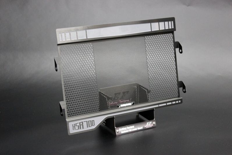 ETCHING FACTORY エッチングファクトリー コアガード ラジエターガード カラー:シルバー XSR700