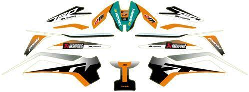 【ポイント5倍開催中!!】【在庫あり】KTM POWER PARTS KTMパワーパーツ ステッカー・デカール Graphics kit [グラフィックキット] 790 DUKE 2018