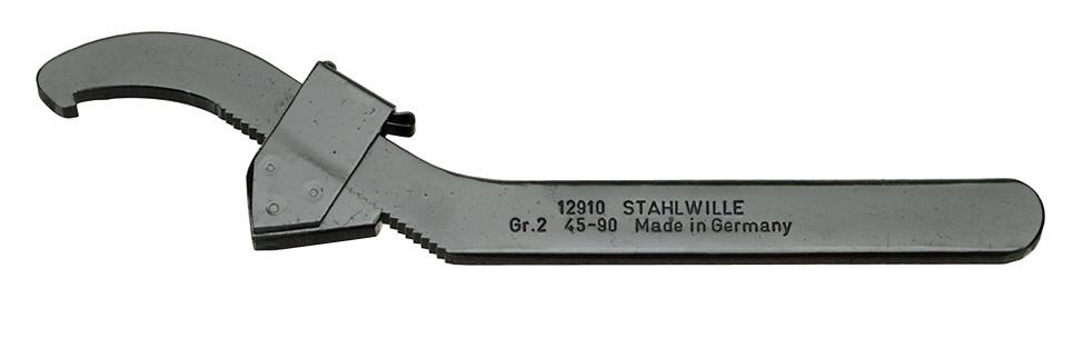 STAHLWILLE スタビレー その他、スパナ アジャスタブルフックスパナ GR.1 対応ナットサイズ (mm):45-90