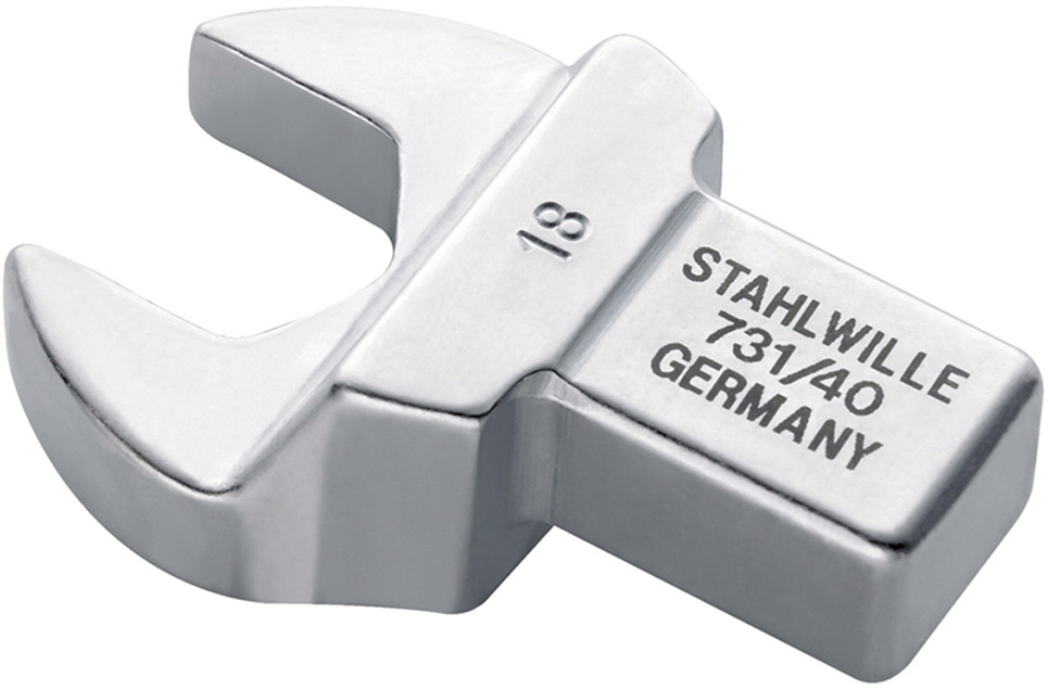 STAHLWILLE スタビレー トルクレンチ差替ヘッド スパナ (58214022)