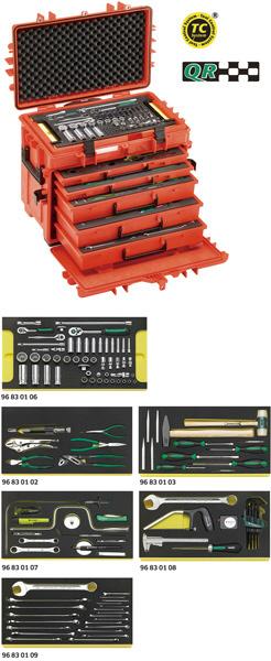 STAHLWILLE スタビレー 航空機整備工具セット (98814905)