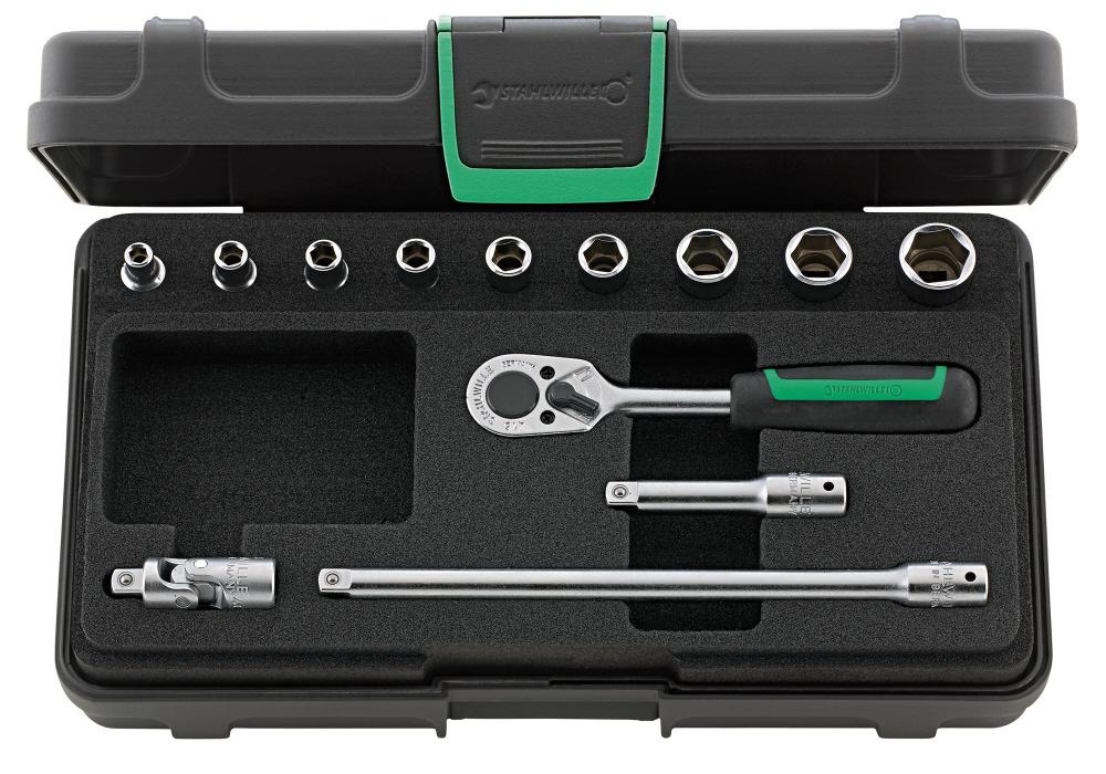 STAHLWILLE スタビレー セット工具 (1/4SQ) ソケットレンチセット (96011119)