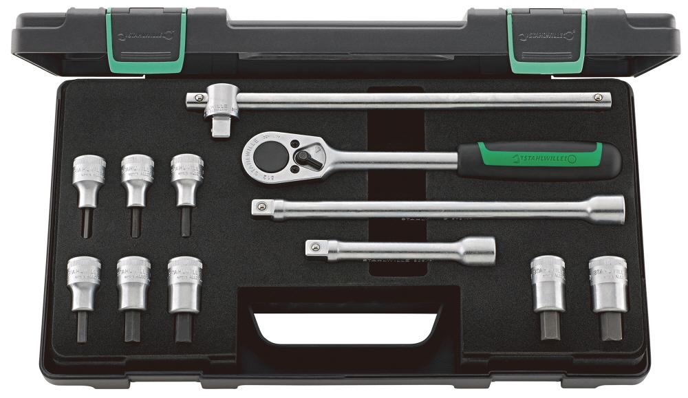 STAHLWILLE スタビレー セット工具 (1/2SQ) インヘックスソケットレンチ (96031501)