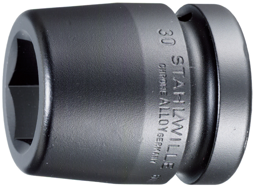 STAHLWILLE スタビレー インパクトレンチ用ソケット類 (1インチSQ) インパクトソケット サイズ (mm):80