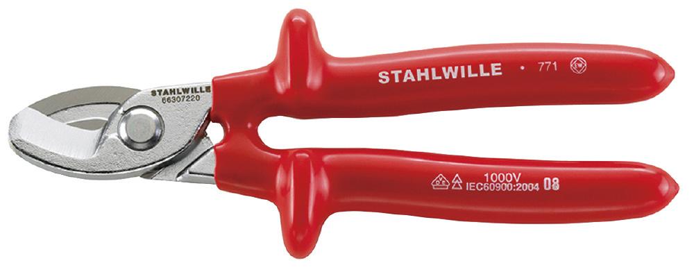 STAHLWILLE スタビレー 絶縁ケーブルカッター (66307220)