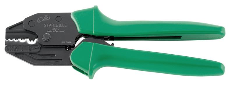 超高品質で人気の スタビレー (66400220):ウェビック 店 STAHLWILLE 圧着ペンチ-DIY・工具