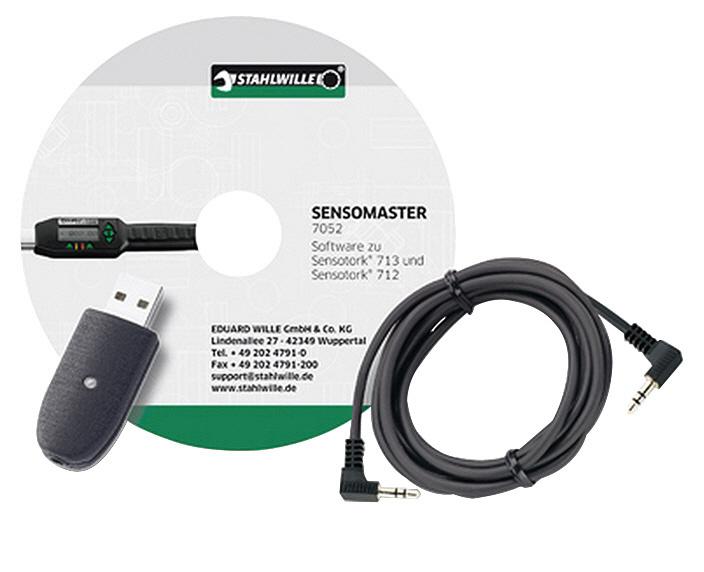 STAHLWILLE スタビレー 712R・713R用USBケーブル+ソフト (96583625)