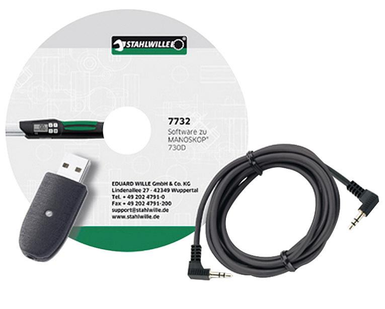 STAHLWILLE スタビレー 730D用USBケーブル+ソフトウェア (96583627)