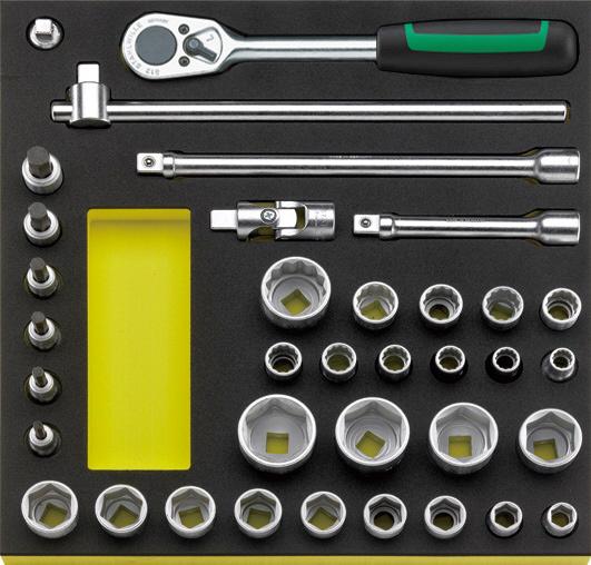 STAHLWILLE スタビレー セット工具 ソケットレンチセット (96830354)