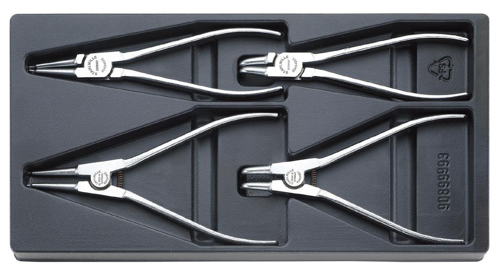 STAHLWILLE スタビレー セット工具 スナップリングプライヤー (96838122)
